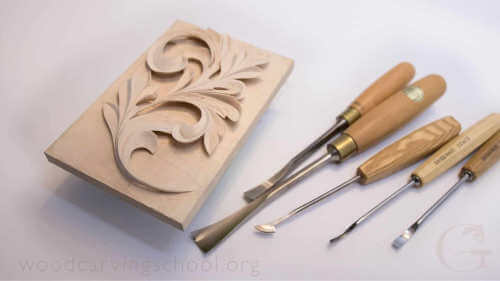 Woodcarving School online