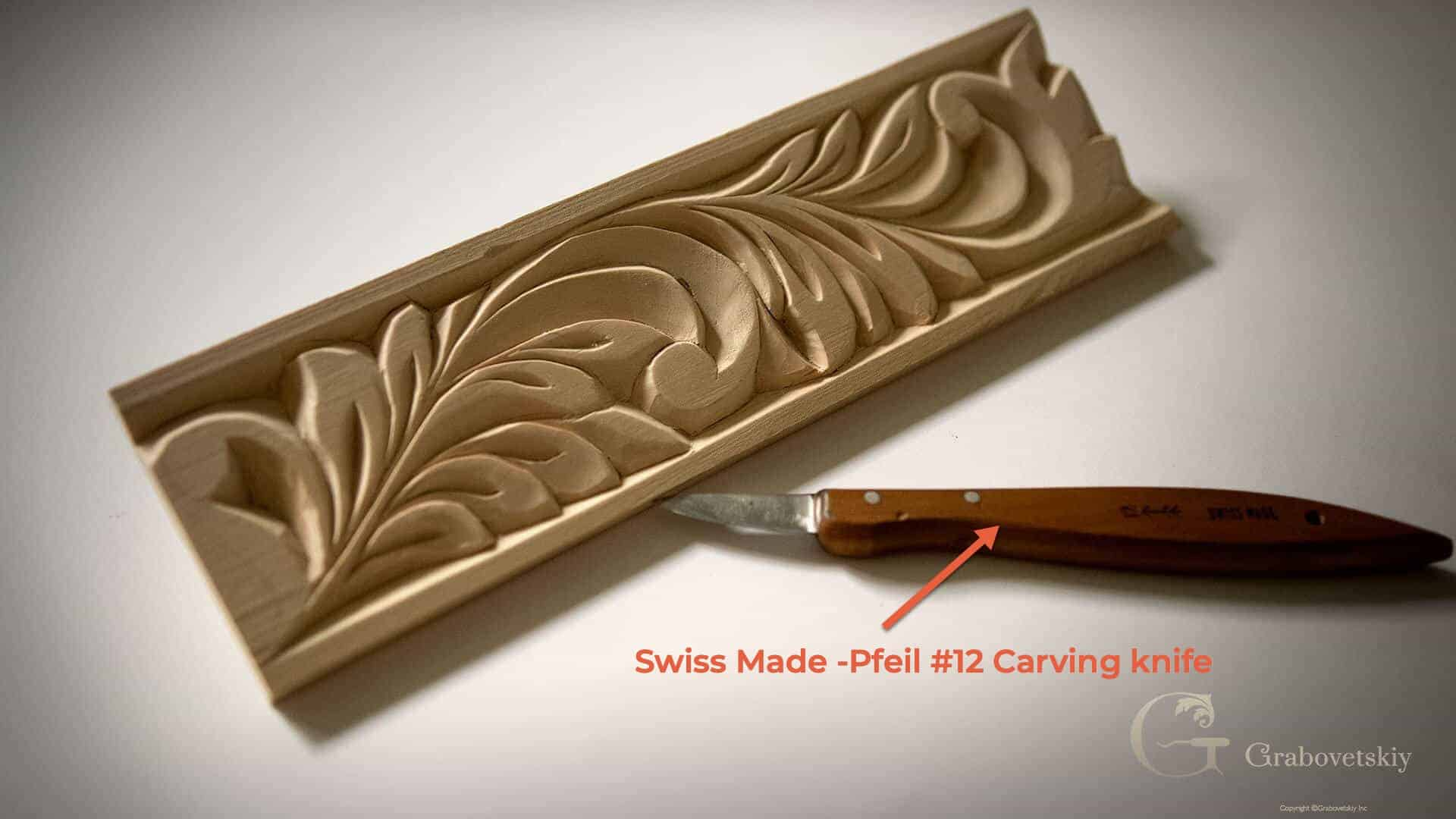 What is the bestt tools for beginner woodcarver - Swiss Made Pfeil #12 chip carving knife
